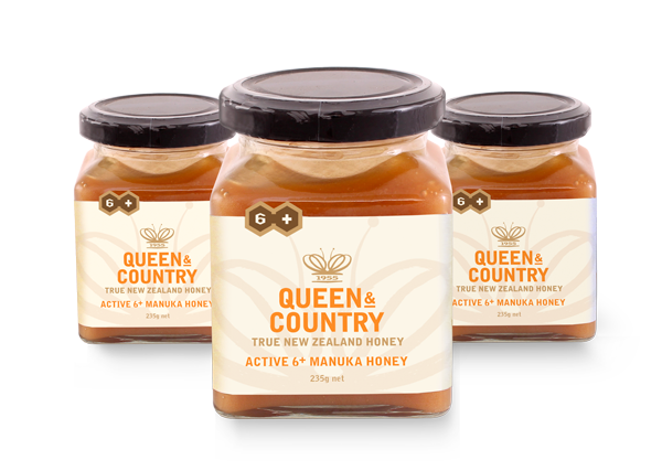 Queen and country jar